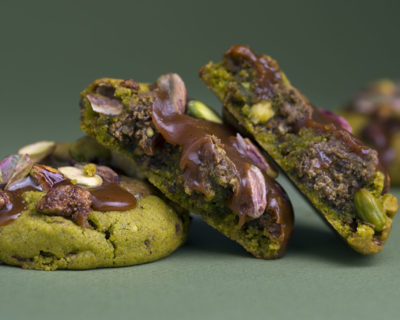 Pistachio cookies by Cedric Grolet