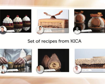 New! Set of six different recipes