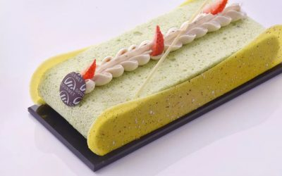 Collection of desserts from Julien Boutonnet