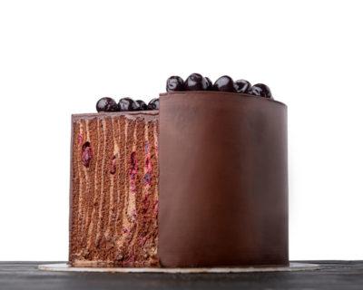 Chocolate Spartak cake