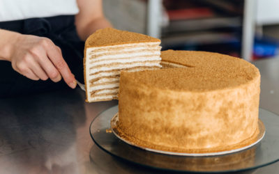 Classic honey cake