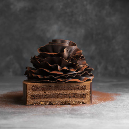 Chocolate cake Feuille D'automne