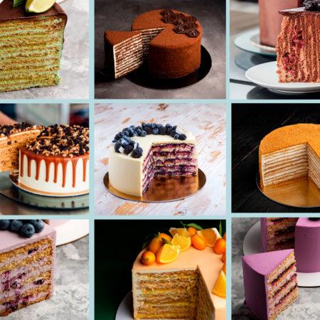 Honey cakes golden collection from Marusya Manko
