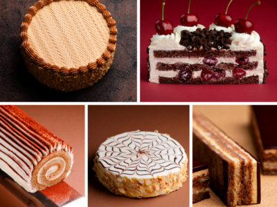 World classic cakes collection