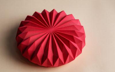 The Origami cake by Dinara Kasko