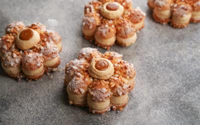 Floraison choux pastry