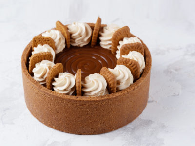 Speculoos Backed Cheesecake