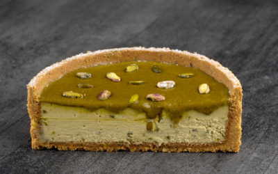 Pistachio Baked Cheesecake