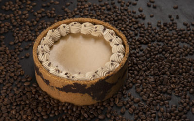 Cappuccino Baked Cheesecake