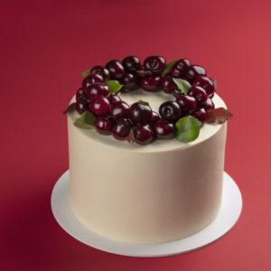Cherry Velvet Vertical Honey Cake