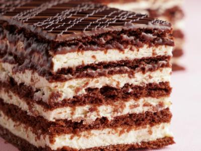 Milk Slice Honey Cake